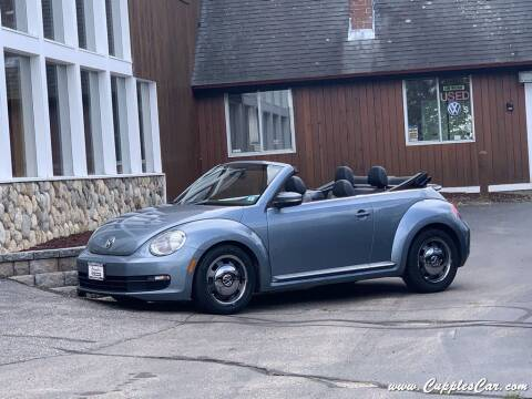 2016 Volkswagen Beetle Convertible for sale at Cupples Car Company in Belmont NH