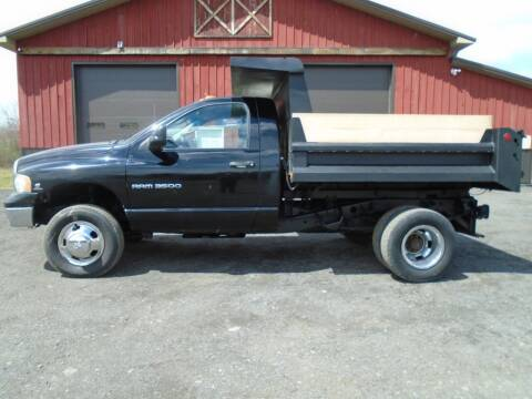 2005 Dodge Ram Pickup 3500 for sale at Celtic Cycles in Voorheesville NY