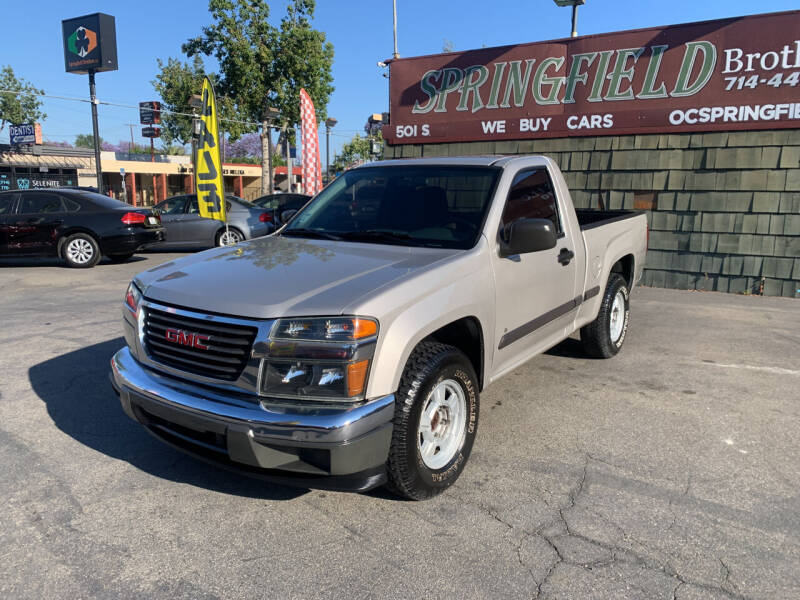 2006 GMC Canyon for sale at SPRINGFIELD BROTHERS LLC in Fullerton CA