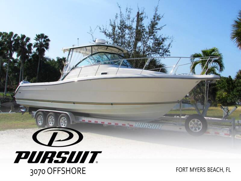 2002 Pursuit 3070 Offshore for sale at Auto Quest USA INC in Fort Myers Beach FL