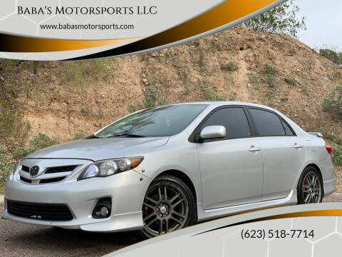 2012 Toyota Corolla for sale at Baba's Motorsports, LLC in Phoenix AZ