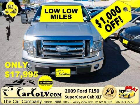 2009 Ford F-150 for sale at The Car Company in Las Vegas NV