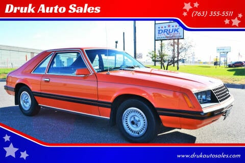 1979 Ford Mustang for sale at Druk Auto Sales - New Inventory in Ramsey MN