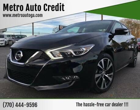 2018 Nissan Maxima for sale at Used Imports Auto - Metro Auto Credit in Smyrna GA