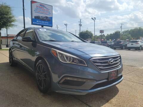 2015 Hyundai Sonata for sale at Magic Auto Sales in Dallas TX