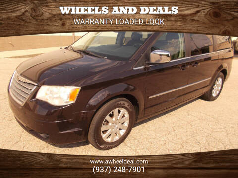 2010 Chrysler Town and Country for sale at Wheels and Deals in New Lebanon OH