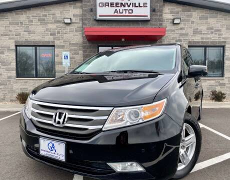 2013 Honda Odyssey for sale at GREENVILLE AUTO & RV in Greenville WI