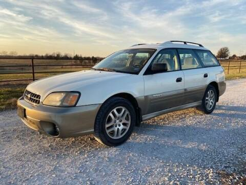 2004 Subaru Outback for sale at The Ranch Auto Sales in Kansas City MO