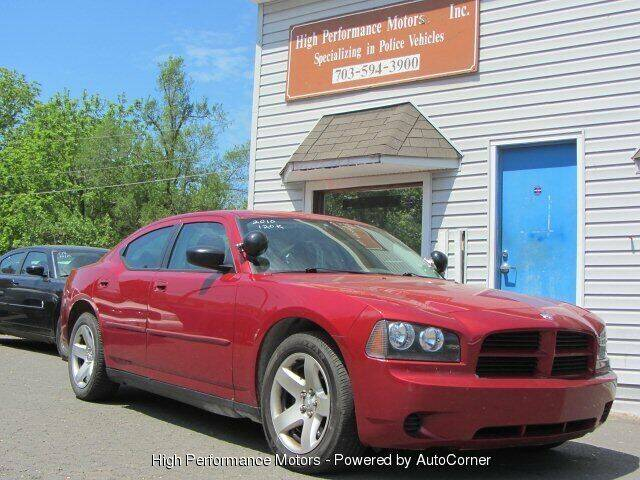 2010 Dodge Charger for sale at High Performance Motors in Nokesville VA