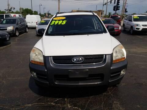 2007 Kia Sportage for sale at Discovery Auto Sales in New Lenox IL