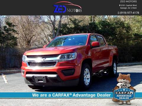 2016 Chevrolet Colorado for sale at Zed Motors in Raleigh NC