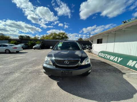 2007 Lexus RX 350 for sale at SOUTHWAY MOTORS in Houston TX