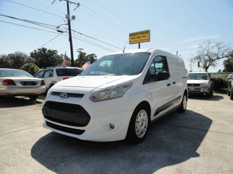 2014 Ford Transit Connect Cargo for sale at GREAT VALUE MOTORS in Jacksonville FL