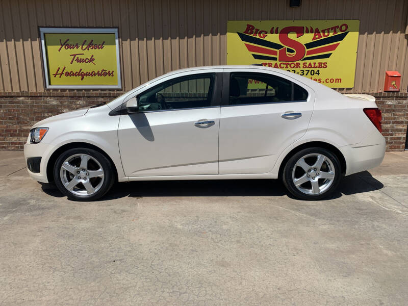 2015 Chevrolet Sonic for sale at BIG 'S' AUTO & TRACTOR SALES in Blanchard OK