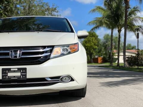 2015 Honda Odyssey for sale at HIGH PERFORMANCE MOTORS in Hollywood FL