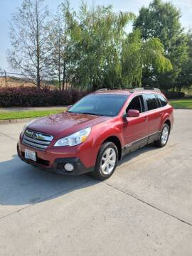 2013 Subaru Outback for sale at RICKIES AUTO, LLC. in Portland OR