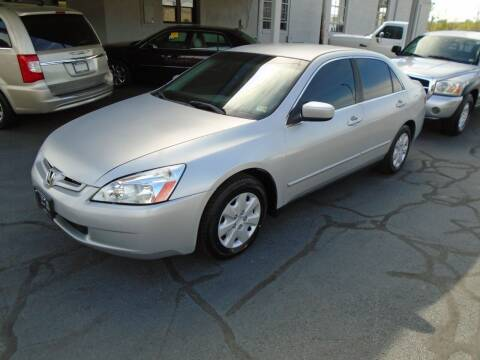 2003 Honda Accord for sale at PIEDMONT CUSTOM CONVERSIONS USED CARS in Danville VA