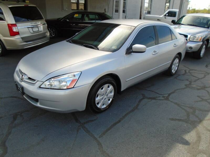 2003 Honda Accord for sale at PIEDMONT CUSTOM CONVERSIONS USED CARS in Danville VA