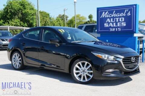 2017 Mazda MAZDA3 for sale at Michael's Auto Sales Corp in Hollywood FL