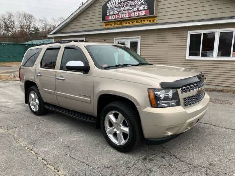 2008 Chevrolet Tahoe for sale at Home Towne Auto Sales in North Smithfield RI