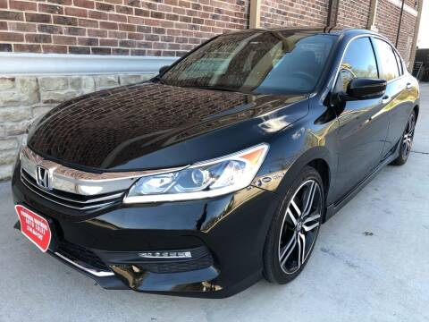 2016 Honda Accord for sale at Vemp Auto in Garland TX