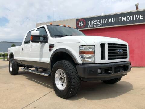 2008 Ford F-350 Super Duty for sale at Hirschy Automotive in Fort Wayne IN