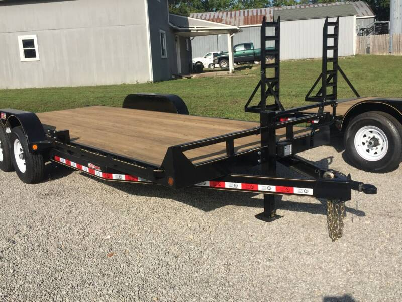 "2021 GRTrailers 82""x20' 14k Car Hauler Utility for sale at Bailey Auto in Pomona KS"