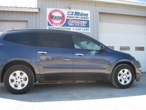2013 Chevrolet Traverse for sale at BYRNES RUST PROOFING CENTER AND AUTO SALES in N.Clarendon VT