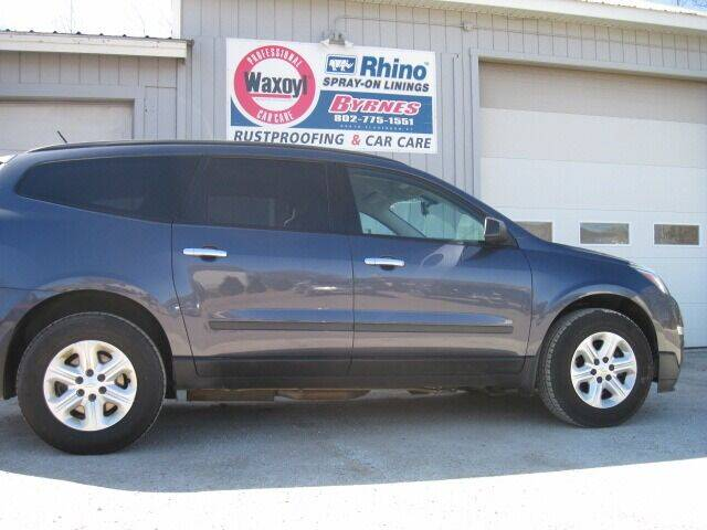 2013 Chevrolet Traverse for sale at BYRNES RUST PROOFING CENTER AND AUTO SALES in North Clarendon VT