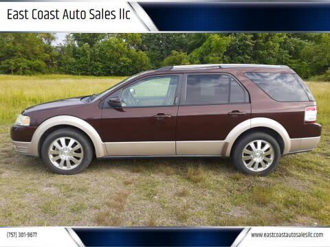 2009 Ford Taurus X for sale at East Coast Auto Sales llc in Virginia Beach VA