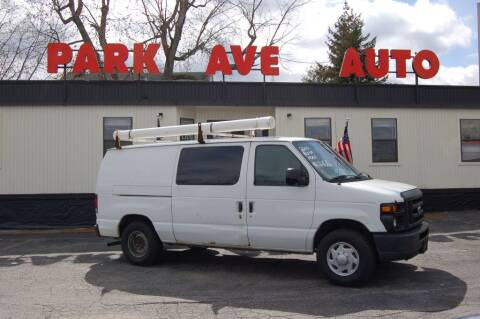 2010 Ford E-Series Cargo for sale at Park Ave Auto Inc. in Worcester MA