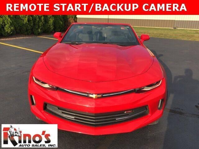 2017 Chevrolet Camaro for sale at Rino's Auto Sales in Celina OH