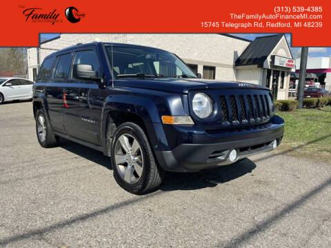 2017 Jeep Patriot for sale at The Family Auto Finance in Redford MI