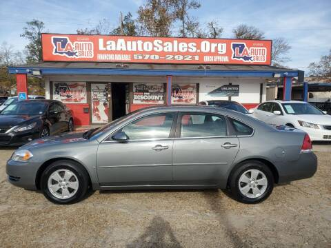 2008 Chevrolet Impala for sale at LA Auto Sales in Monroe LA