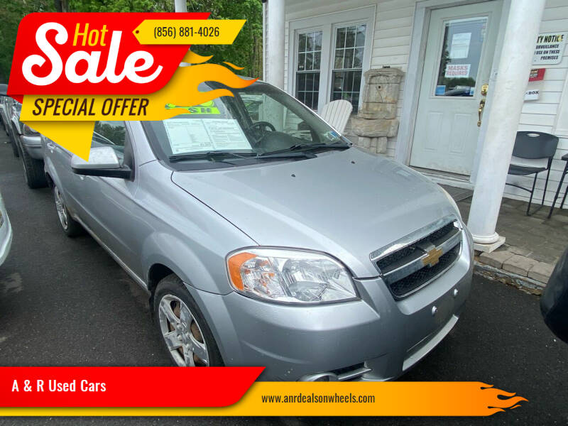 2011 Chevrolet Aveo for sale at A & R Used Cars in Clayton NJ