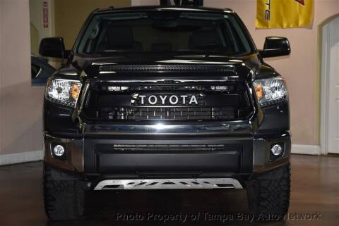 2017 Toyota Tundra for sale at Tampa Bay AutoNetwork in Tampa FL