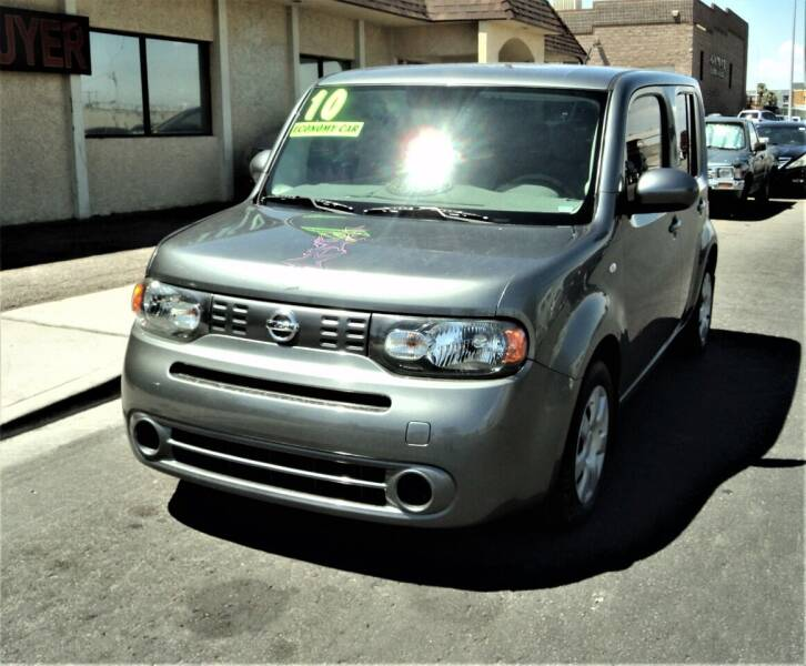 2010 Nissan cube for sale at DESERT AUTO TRADER in Las Vegas NV