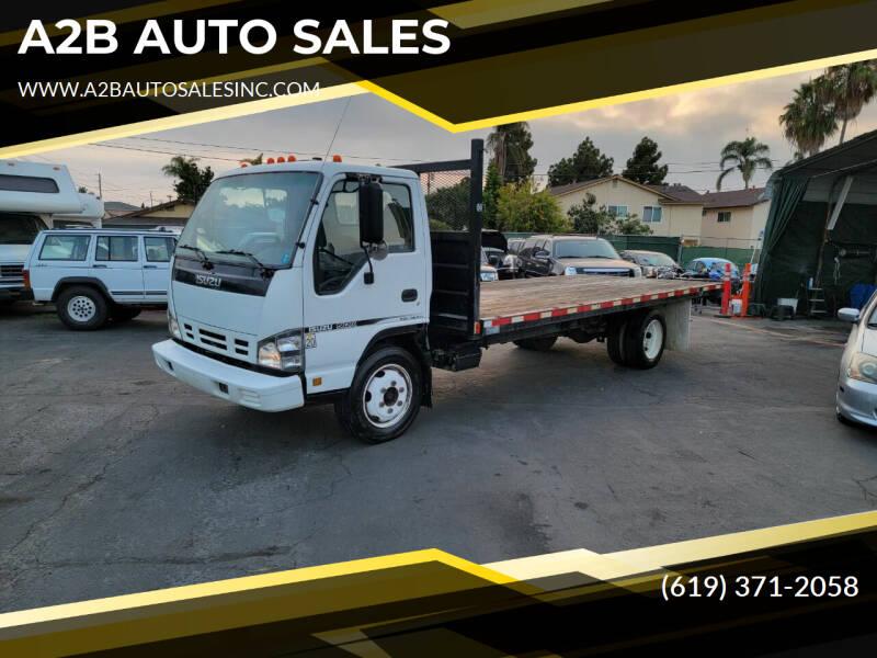 2006 Isuzu NQR for sale at A2B AUTO SALES in Chula Vista CA