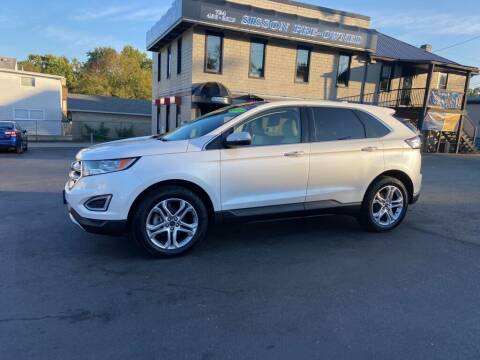 2017 Ford Edge for sale at Sisson Pre-Owned in Uniontown PA
