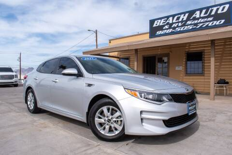 2017 Kia Optima for sale at Beach Auto and RV Sales in Lake Havasu City AZ