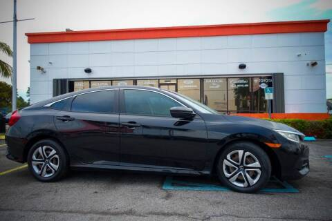 2016 Honda Civic for sale at Car Depot in Miramar FL
