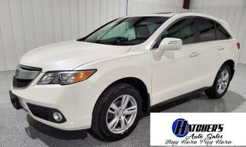 2013 Acura RDX for sale at Hatcher's Auto Sales, LLC - Buy Here Pay Here in Campbellsville KY