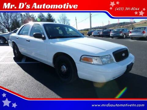 2005 Ford Crown Victoria for sale at Mr. D's Automotive in Piney Flats TN