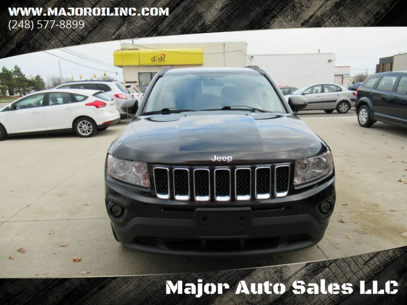 2013 Jeep Compass for sale at Major Auto Sales LLC in Madison Heights MI