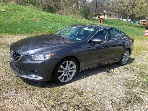 2016 Mazda MAZDA6 for sale at Martin Auto Sales in West Alexander PA