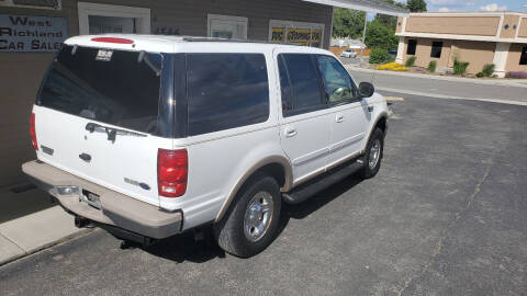 1999 Ford Expedition for sale at West Richland Car Sales in West Richland WA