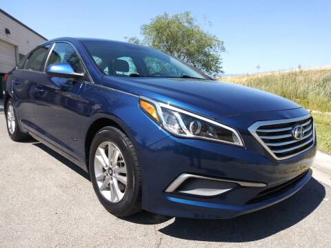2016 Hyundai Sonata for sale at AUTOMOTIVE SOLUTIONS in Salt Lake City UT