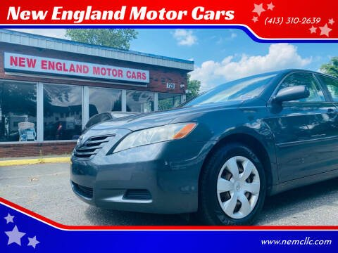 2009 Toyota Camry for sale at New England Motor Cars in Springfield MA