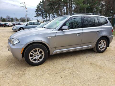 2007 BMW X3 for sale at Northwoods Auto & Truck Sales in Machesney Park IL