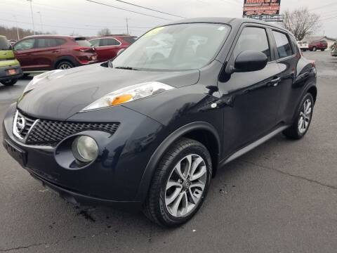 2011 Nissan JUKE for sale at Moores Auto Sales in Greeneville TN